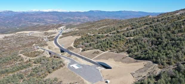 La puesta en servicio de 17 nuevos kilómetros de la A-23 reduce el recorrido ent