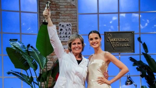 Rosa, ganadora de la segunda entrega de 'Maestros de la costura'