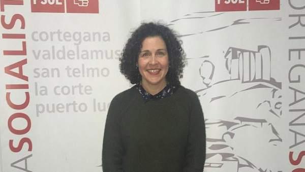 Virginia Muñiz, secretaria general del PSOE de Cortegana (Huelva)