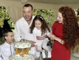 Mohamed VI, Lalla Salma y sus hijos