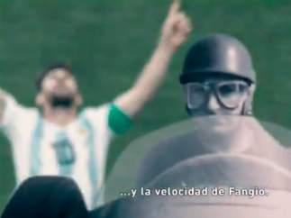 Messi, comparado con 10 iconos argentinos
