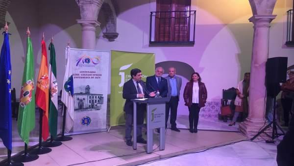 Jaén.- MásJaén.- Reyes participa en la inauguración de una muestra sobre el cent