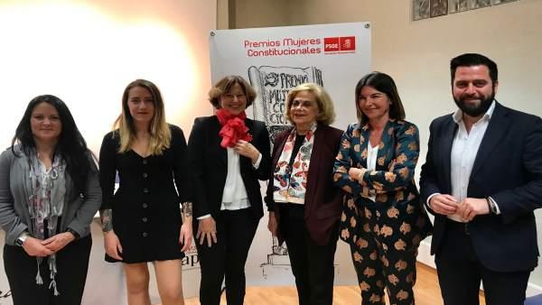 Cádiz.- PSOE premia a Amparo Rubiales y a SOS Bebés Robados en la VIII edición d