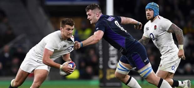Inglaterra-Escocia de rugby