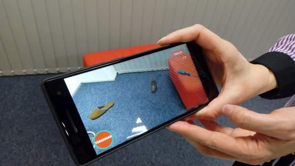 Una app de Realidad Aumentada ayuda a evaluar la memoria espacial