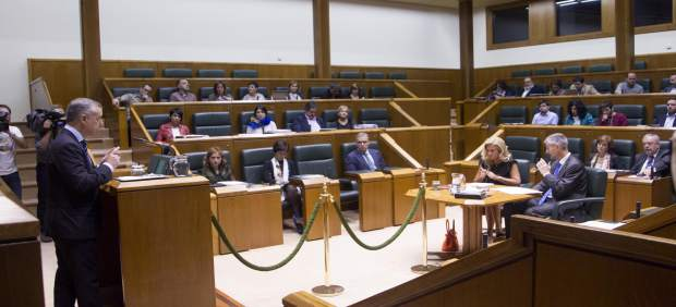 Urkullu en el Parlamento