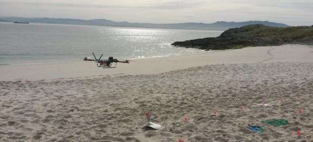 drones contra basura marina