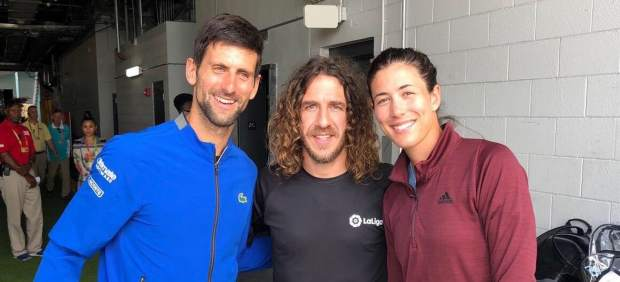 Djokovic, Puyol y Muguruza en Miami
