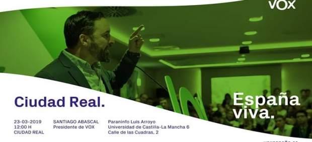 28A.- Abascal Protagoniza Este Sábado En El Paraninfo De Ciudad Real Un Acto De