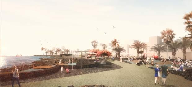 Proyecto Paseo de Las Cucharas de Costa Teguise