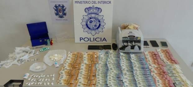 Sucesos.- Detenido padre e hijo en San Andrés (León) e intervenidos 100 gramos d