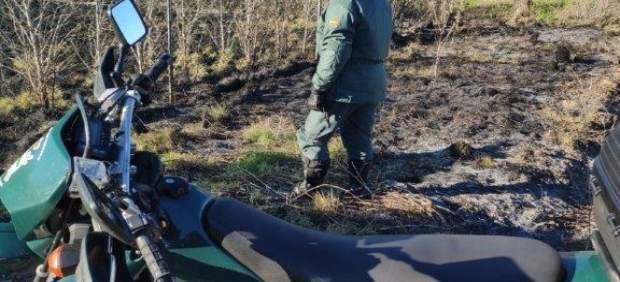 Sucesos.- La Guardia Civil investiga a una persona por el incendio forestal de f