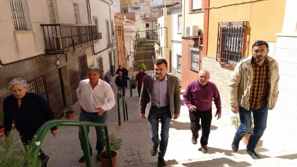 Jaén.- Maíllo valora la confluencia de IU y Podemos para ofrecer 'un proyecto de
