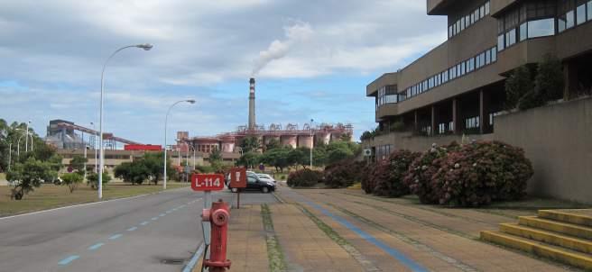 Fábrica de Alcoa en San Cibrao (Lugo)