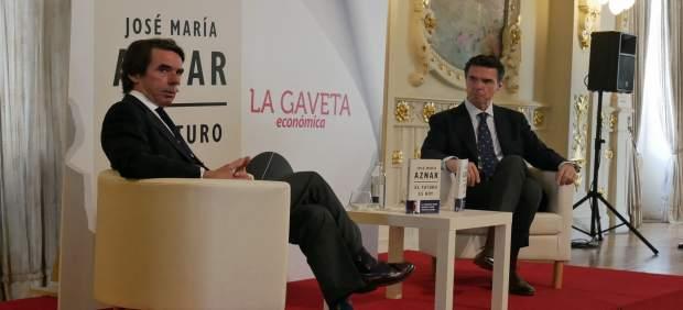 Aznar avisa que España está haciendo 'lo posible' para que llegue el día en el q