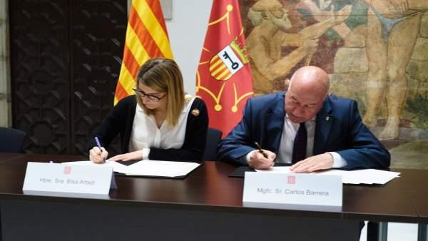 El Govern y el Síndic de Aran firman el acuerdo para el nuevo modelo de financia