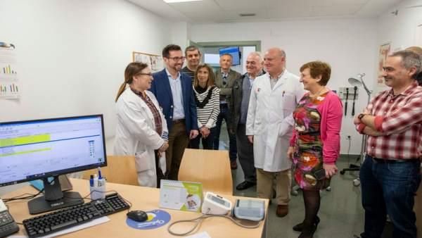 Real visita las nuevas instalaciones y equipamientos del Centro de Salud de Coli