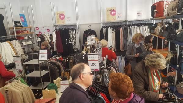 Jaén.- Los jiennenses reciclaron más 751.000 kilos de ropa en 2018 a través de C