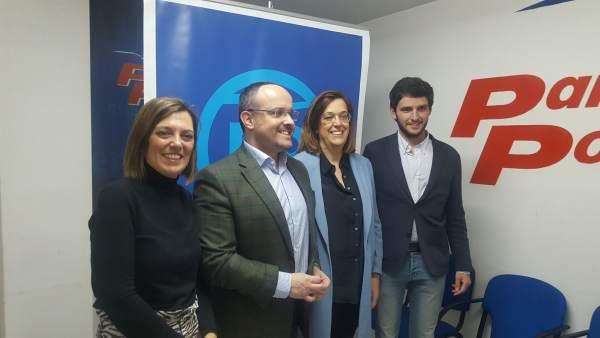 Os paso lo del PP y mi foto (Fernández se reúne con cargos autonómicos y naciona