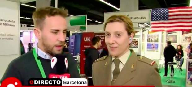 Julia Mejide, hermana de Risto Mejide, en una aparición televisiva.