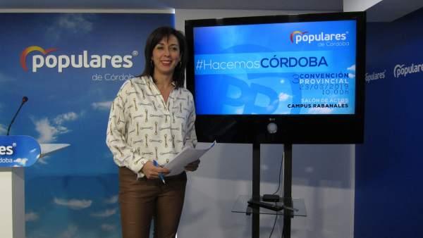 Córdoba.- 26M.- El PP celebra el sábado una convención provincial con candidatos