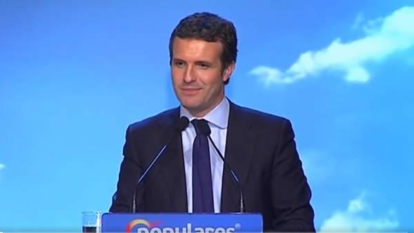 España.- Casado (PP) insta a intervenir a Mossos y policías locales para retirar