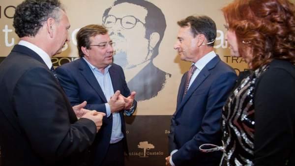 Matías Prats recoge el Premio Santiago Castelo en reconocimiento a su trayectori