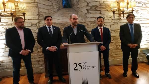 Noriega alega que Santiago ya es una de las dos Ciudades Patrimonio con cámaras