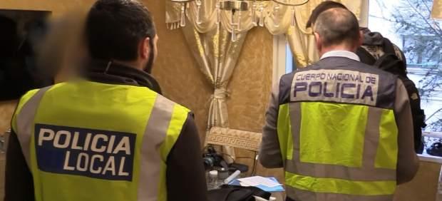Sucesos.- El operativo antidroga del barrio Virgen de Lluc acaba con seis deteni