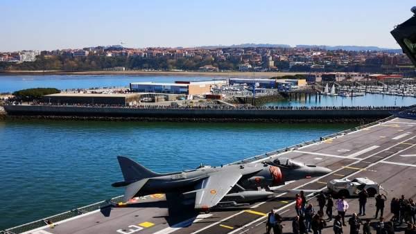La Armada Española agradece la 'gran acogida' ofrecida al portaaviones Juan Carl