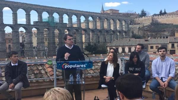 26M.- Mañueco Compromete Ayudas De 10.000 Euros A Empresas Que Ofrezcan Contrato