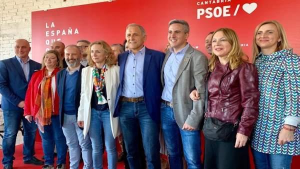 28A.- Los Socialistas Cántabros Llevarán 'La Voz De Los Trabajadores' Al Congres