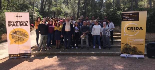 26M.- Crida Per Palma Presenta Sus Listas Municipales En Un Acto En Los Jardines