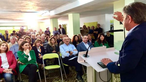 28A.- Mazón: Votar PRC Es 'Votar A Cantabria' Y Los Cántabros 'No Eligen Pedros