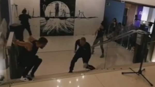 El artista urbano Suso33 actúa en 'FAMA a bailar'