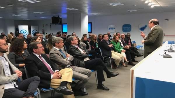 Granada.- 26M.- PP presenta su lista a las municipales con Luis González Ruiz, E