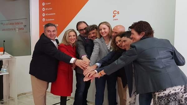 Jaén.- Cs presenta su candidatura al Congreso y al Senado 'comprometida y centra