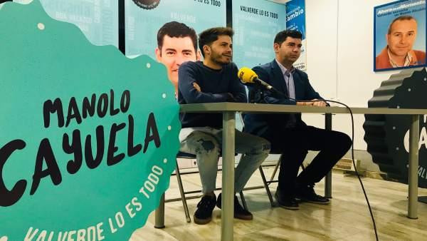 Huelva.- 26M.- El alcalde de Valverde del Camino incopora a Emilio Blanco en su