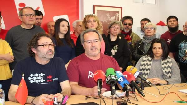 26M.- Francisco Guarido Repite Como Candidato De Izquierda Unida A La Alcaldía D