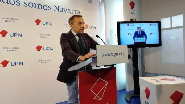 AMP.- UPN propondrá en la comisión de investigación sobre Sodena remitir a la Fi