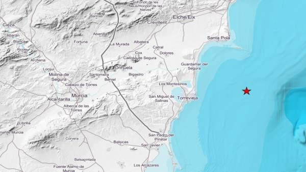 Sucesos.- Un terremoto de magnitud 4 en la escala Richter se deja sentir en Alic