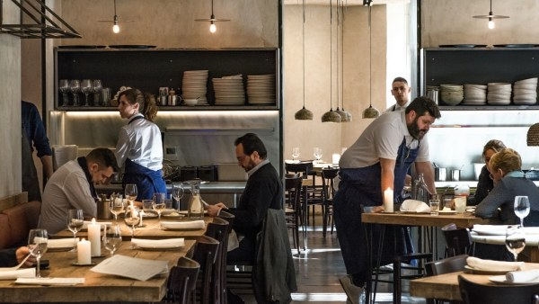 El restaurante Fismuller, en Madrid