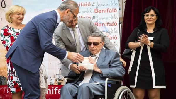 BENIFAIÓ DECRETA DOS DÍAS DE LUTO OFICIAL POR LA MUERTE DEL QUE FUE ALCALDE DEL