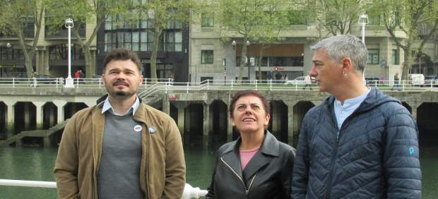 Rufian avisa que 'la amenaza real' es un pacto PSOE-Cs y no 'la llegada de los t