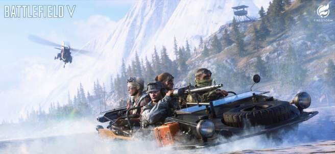 El 'battle royale' de Battlefield V