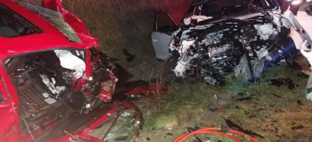 Sucesos.- Muere un vecino de Artajona en un accidente de tráfico en la N-121 cer