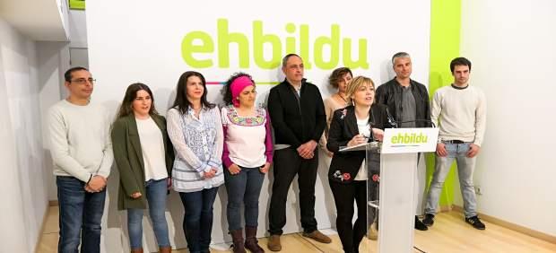 26M.- Larrion (EH Bildu) Quiere Liderar Un Gobierno 'Amplio' Con 'Todas Las Fuer