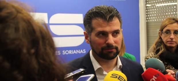Tudanca pide la 'complicidad' de las empresas sorianas para luchar contra la des