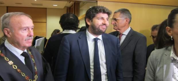 Agua.- López Miras insta a Valencia y Andalucía a reunirse para hacer frente a q