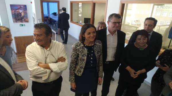 Maroto reafirma el compromiso del Gobierno de llevar fibra óptica a todos los po
